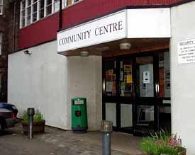 Tollcross Community Centre - From http://andrewburns.blogspot.co.uk/2007/04/alp-hustings.html