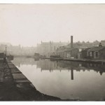 View of Port Hamilton on the Union Canal looking towards Morrison Street