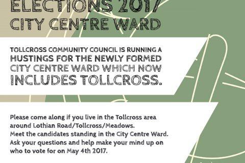 Tollcross Council Hustings