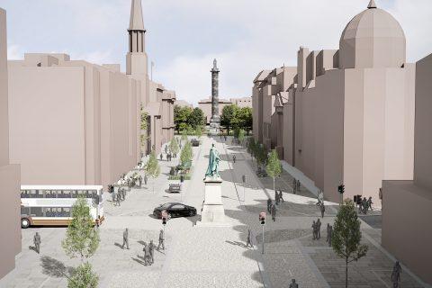 City centre transformation