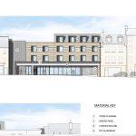 Scotmid  flats plan, Leven Street